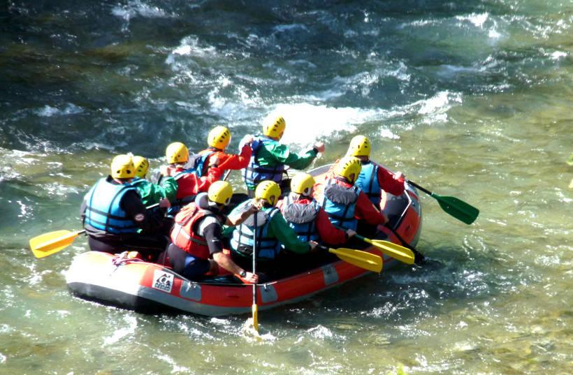 Rafting-Canyoning
